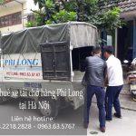 Cho thuê xe tải chuyển nhà giá rẻ tại phố Vũ Xuân Thiều