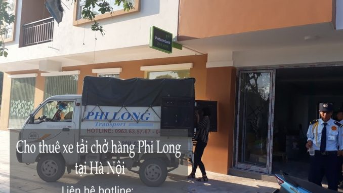 Cho thuê xe tải chuyển nhà giá rẻ tại phố Tân Thụy-0963.63.5767