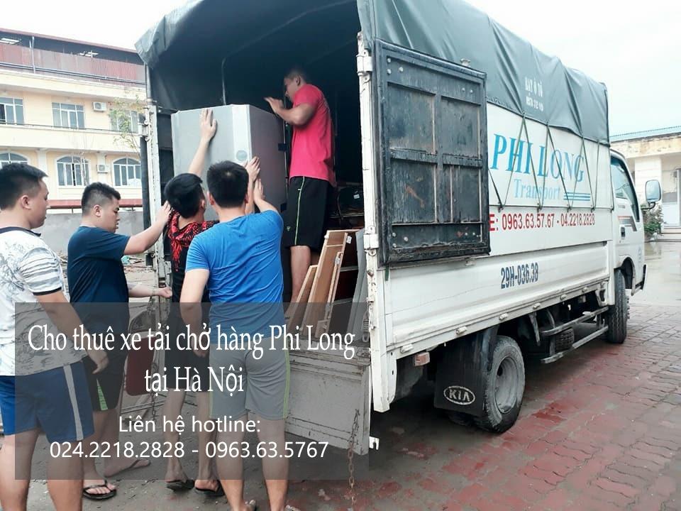 Cho thuê xe tải chuyển nhà giá rẻ tại phố Lâm Hạ-0963.63.5767