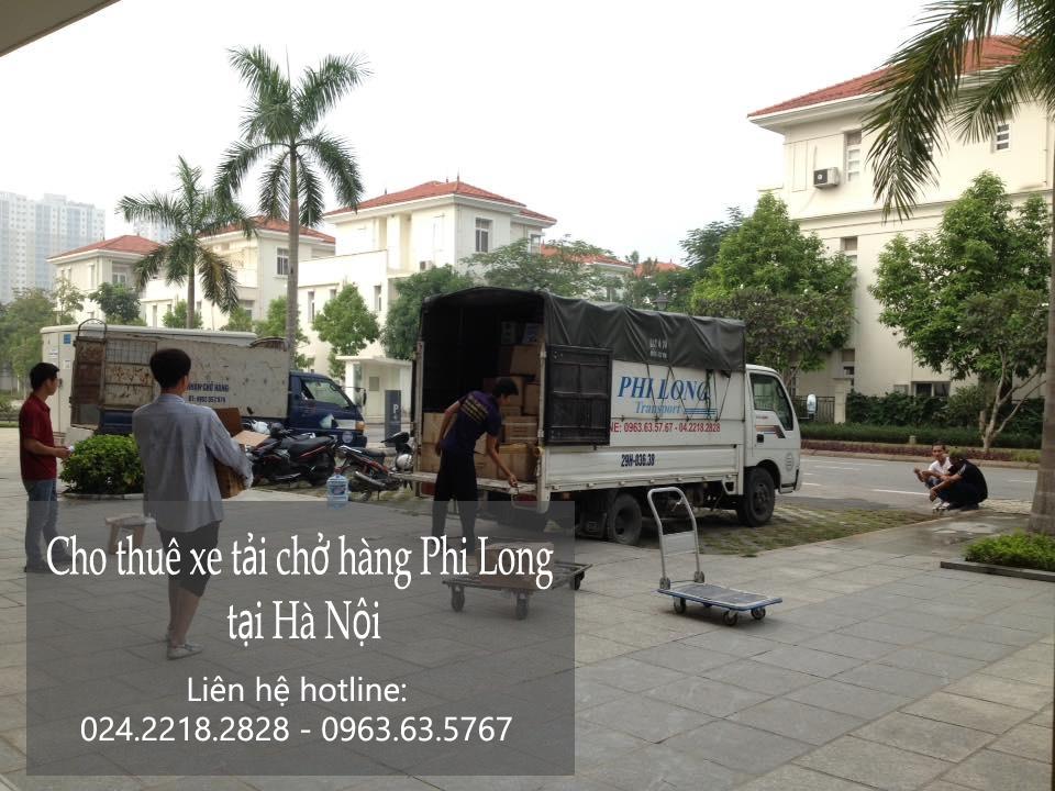 Xe tải chuyển nhà giá rẻ tại phố Hoàng Tích Trí