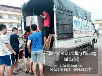 Dịch vụ cho thuê xe tải chuyển nhà tại phố Đàm Quang Trung