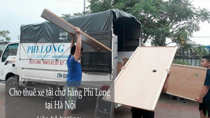 Dịch vụ cho thuê xe tải chở hàng tại phố Trần Xuân Soạn