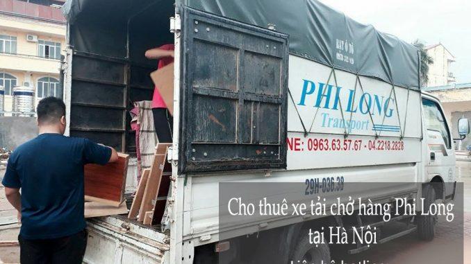 Cho thuê xe chuyển nhà giá rẻ tại phố Nguyên Khiết
