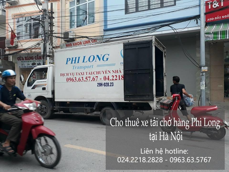 Cho thuê xe chuyển nhà giá rẻ tại phố Vũ Đức Thận-0963.63.5767