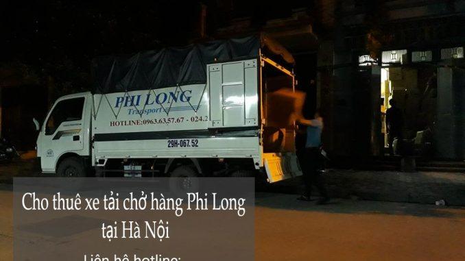 Cho thuê xe tải chuyển nhà giá rẻ phố Hoa Lâm-0963.63.5767