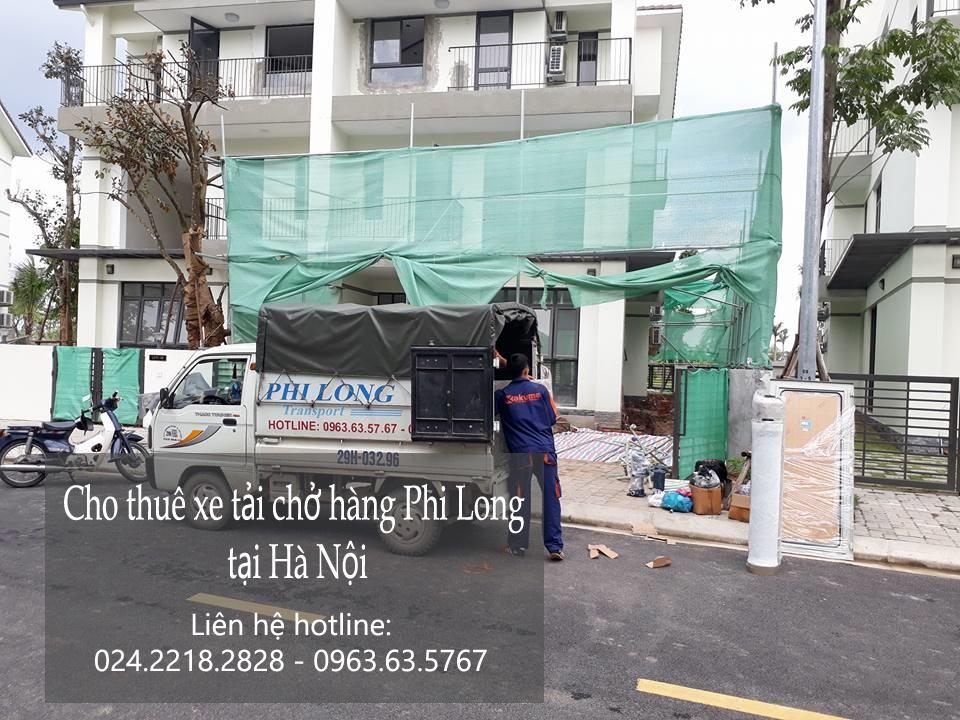 Cho thuê xe tải chuyển nhà giá rẻ phố Nguyễn Cao Luyện