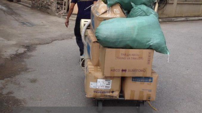 Cho thuê xe tải chuyển nhà giá rẻ tại phố Đức Giang