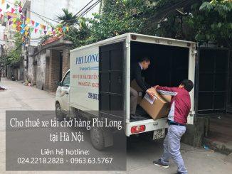 Cho thuê xe tải chuyển nhà giá rẻ tại phố Phó Đức Chính