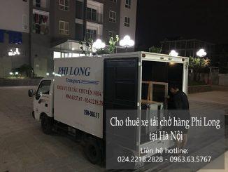 Cho thuê xe tải chuyển nhà giá rẻ tại phố Trần Khát Chân