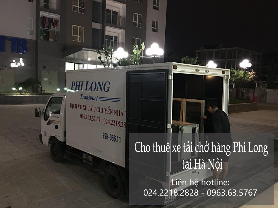 Xe tải chuyển nhà giá rẻ tại phố Kim Giang