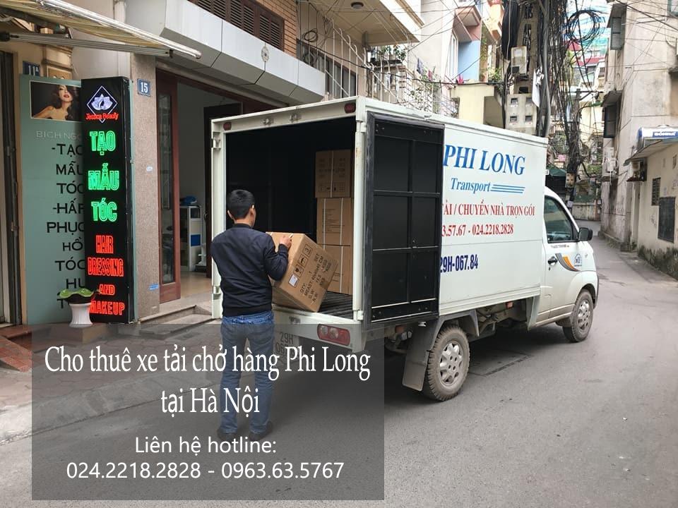 Dịch vụ cho thuê xe tải chuyển nhà tại phố Hội Xá