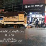 Cho thuê xe tải chuyển nhà giá rẻ tại phố Thiên Yên