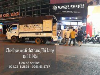 Cho thuê xe tải chuyển nhà giá rẻ tại phố Nguyễn Tri Phương