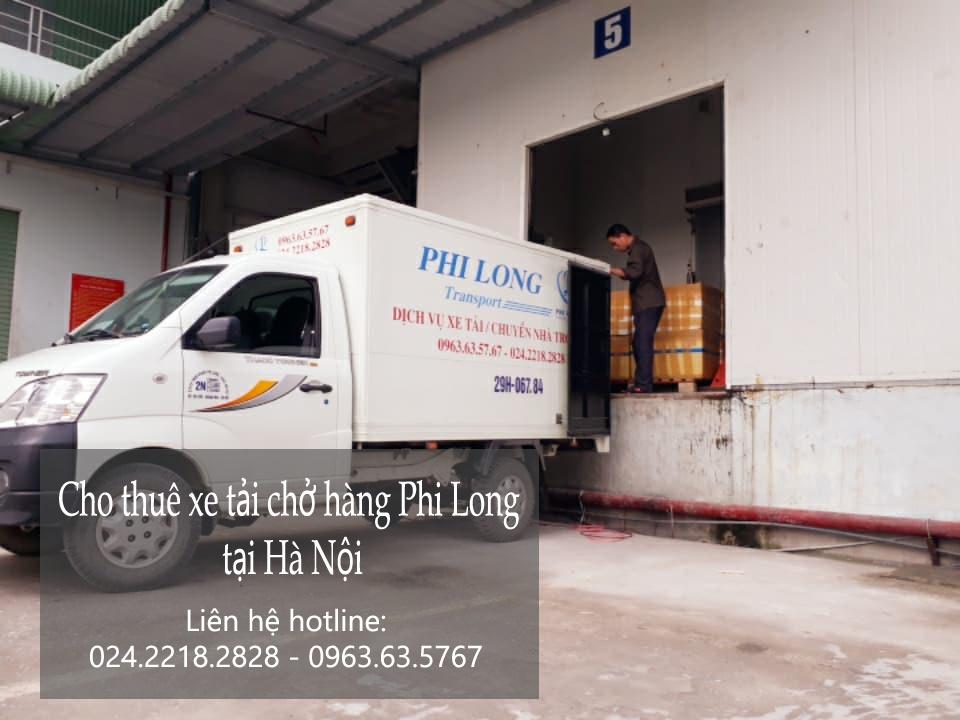 Cho thuê xe tải chuyển nhà giá rẻ tại phố Kim Quan