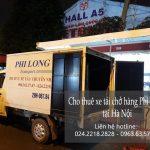 Cho thuê xe tải chở hàng giá rẻ tại phố Nguyễn Chế Nghĩa