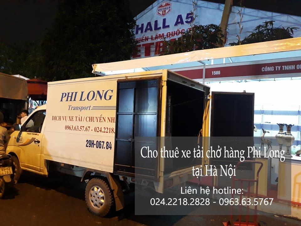 Cho thuê xe tải chuyển nhà giá rẻ tại phố Vạn Bảo
