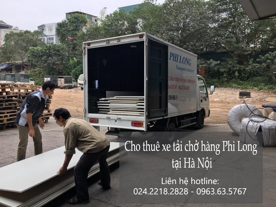 Xe tải chuyển nhà giá rẻ tại phố Nguyễn Thị Định