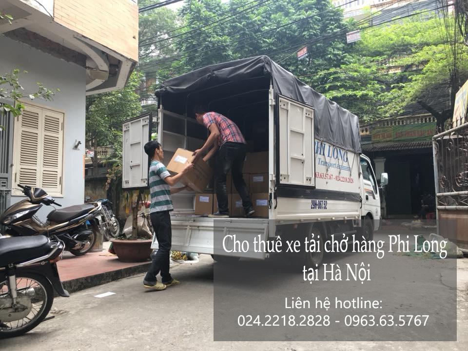 Cho thuê xe tải chuyển nhà giá rẻ tại phố Trần Hưng Đạo