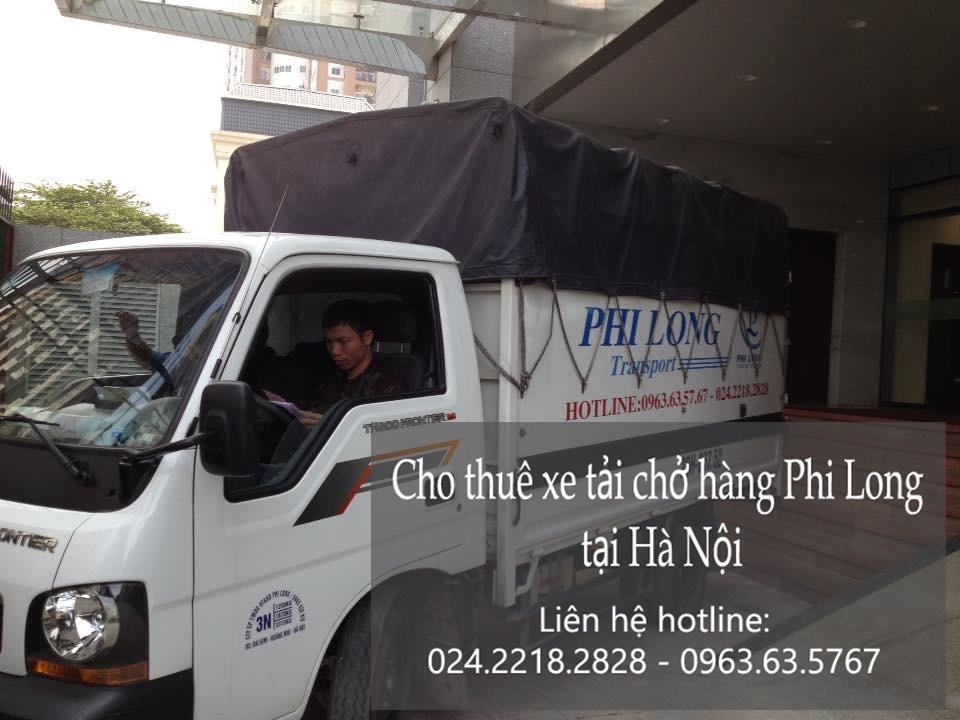 Xe tải chuyển nhà giá rẻ tại phố Vũ Hữu