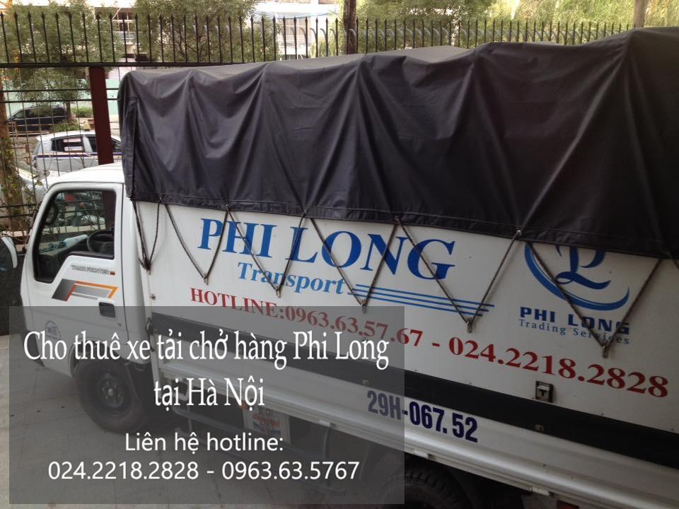 Cho thuê xe tải chuyển nhà giá rẻ tại khu đô thị royal city