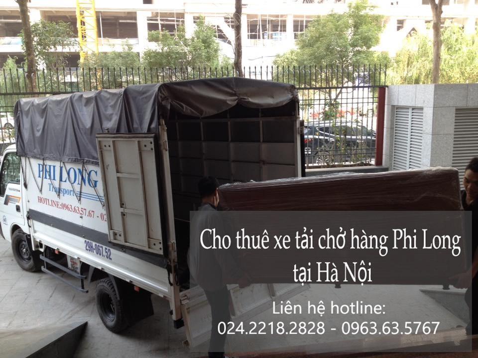 Xe tải chuyển nhà giá rẻ tại phố Nguyễn Du