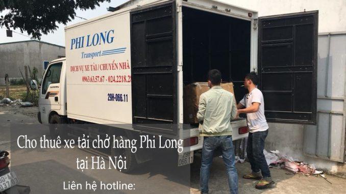 Thuê xe chuyển nhà giá rẻ tại phố Đào Duy Từ