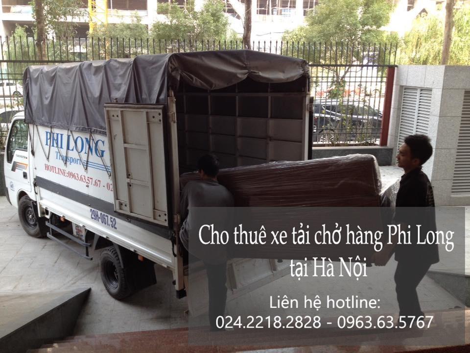 Xe tải chuyển nhà giá rẻ tại phố Phùng Khoang