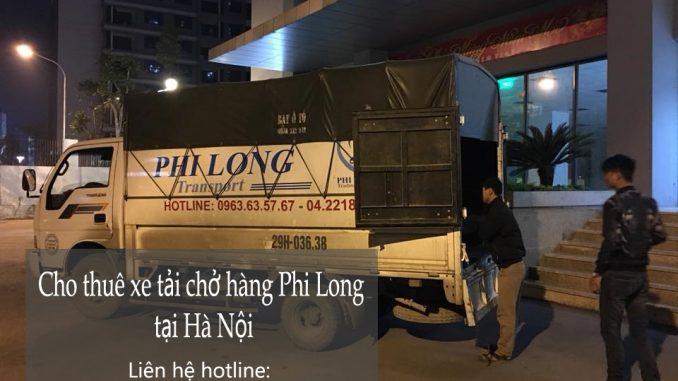Xe tải chuyển nhà giá rẻ tại phố Trần Duy Hưng