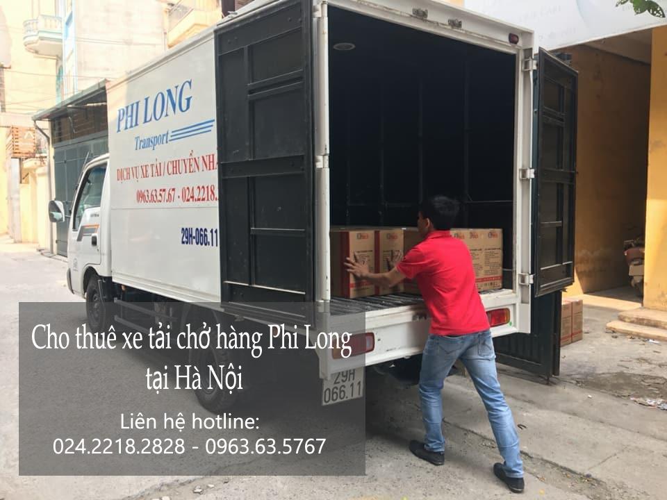 Xe tải chuyển nhà giá rẻ tại phố Trung Kính