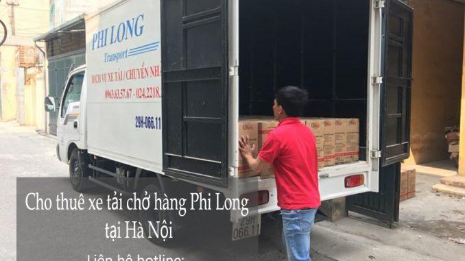 Xe tải chuyển nhà giá rẻ tại khu đô thị Dương Nội