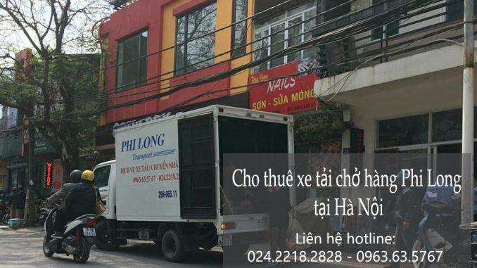 Xe tải chuyển nhà giá rẻ tại phố Ngô Văn Sở