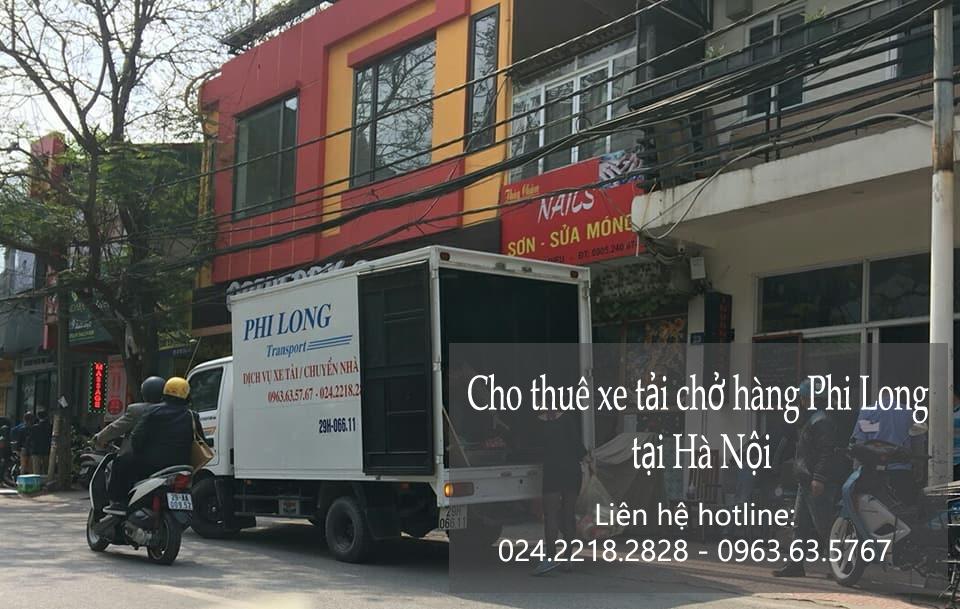 Dịch vụ xe tải chuyển nhà giá rẻ tại phố Nguyễn Cảnh Chân