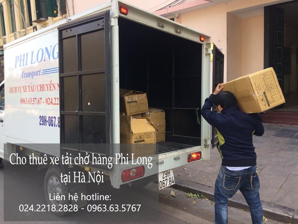 Xe tải chuyển nhà giá rẻ tại phố Đặng Xuân Viện