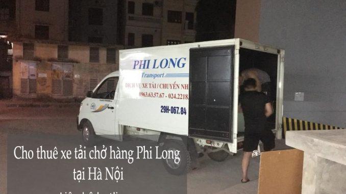Xe tải chuyển nhà giá rẻ tại phố Nguyễn Văn Trỗi