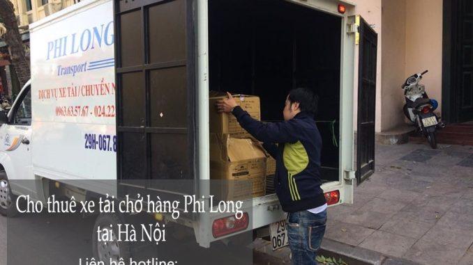 Xe tải chuyển nhà giá rẻ tại phố Nguyễn Thượng Hiền