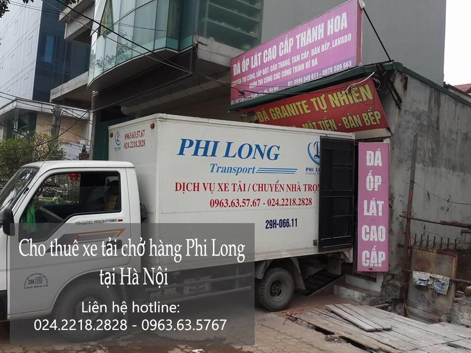 Dịch vụ xe tải chuyển nhà giá rẻ tại phố Nguyễn Phong Sắc