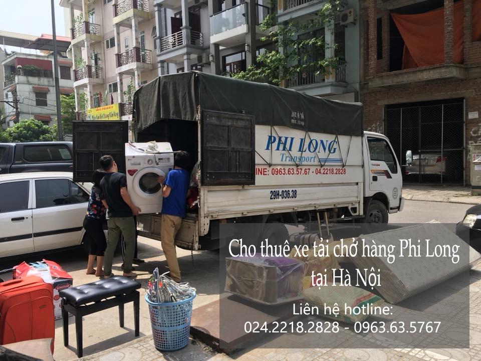Dịch vụ xe tải chuyển nhà giá rẻ Phi Long tại phố Khương Thượng