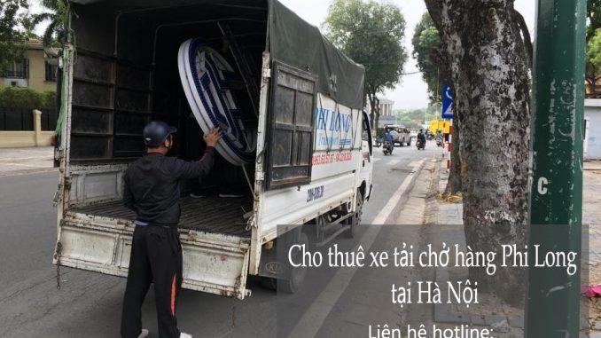 Cho thuê xe tải chở hàng tại phố Tô Tịch