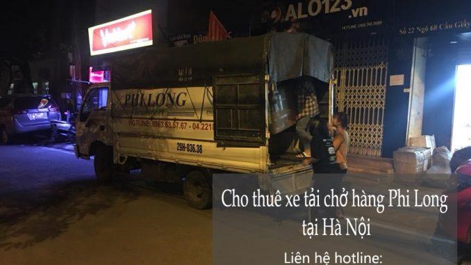 Xe tải chuyển nhà giá rẻ tại khu đô thị Pháp Vân