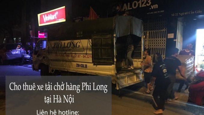 Dịch vụ chở hàng thuê bằng xe tải tại phố Lê Lợi