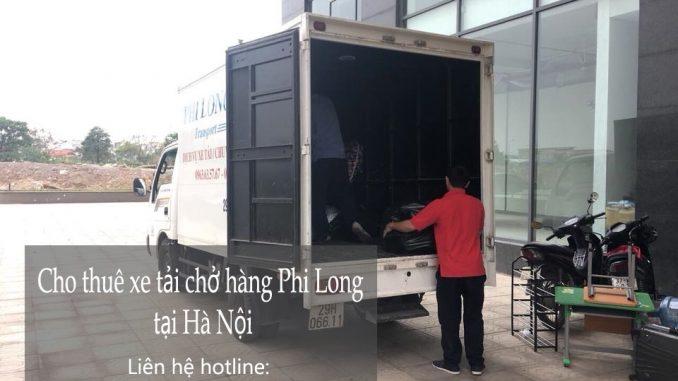 Xe tải chuyển nhà giá rẻ tại đường Giải Phóng