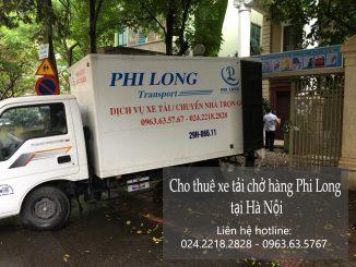Xe tải chuyển nhà giá rẻ tại đường Giáp Bát