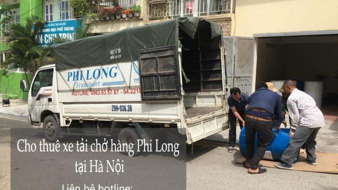 Xe tải chuyển nhà giá rẻ tại phố Lê Lai