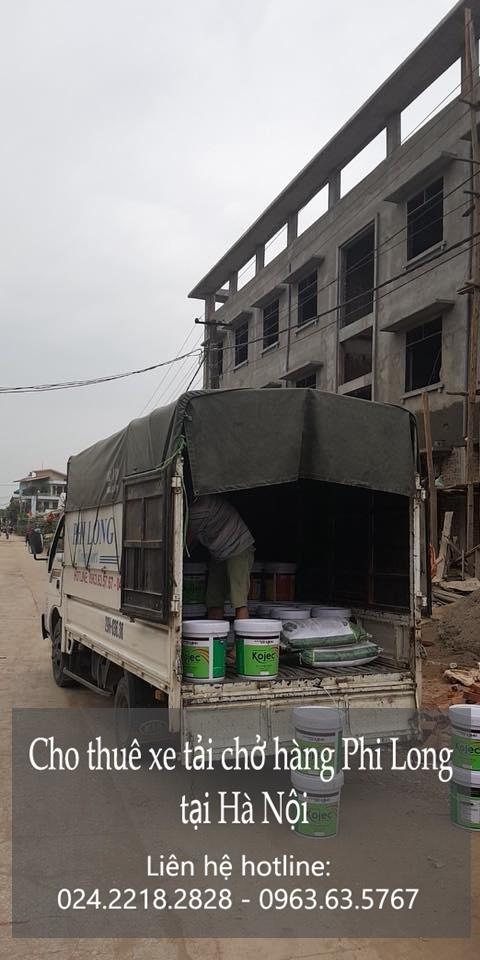 Dịch vụ xe tải chuyển nhà giá rẻ Phi Long tại đường Nguyễn Trãi