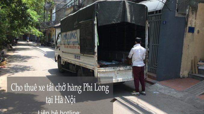 Xe tải chuyển nhà giá rẻ trên đường Trung Yên