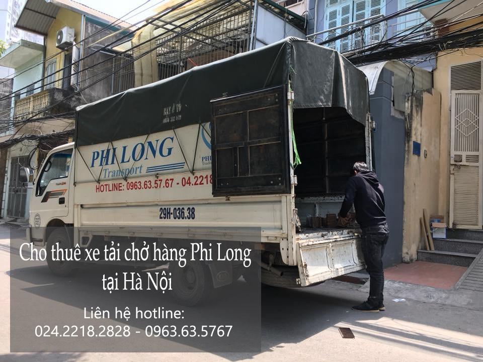 Xe tải chuyển nhà giá rẻ tại phố Trung Hòa