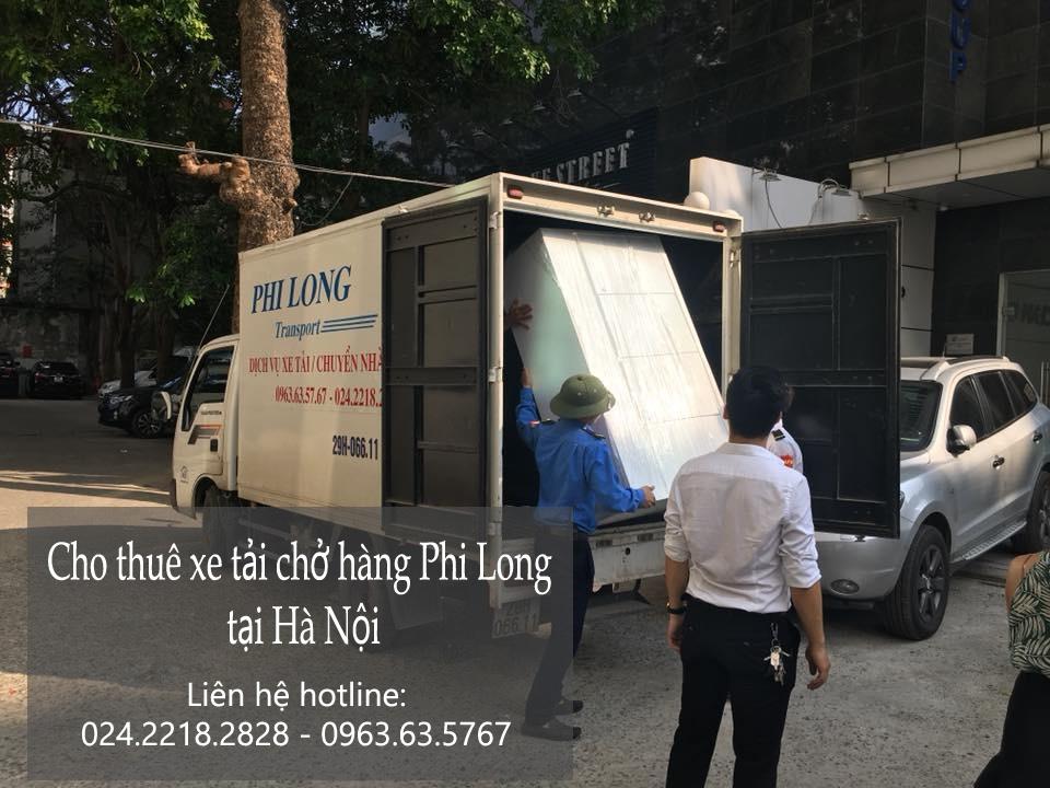 Xe tải chuyển nhà giá rẻ tại phố Tạ Quang Bửu