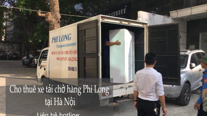 Taxi tải chuyển nhà giá rẻ tại phố Đông Thái