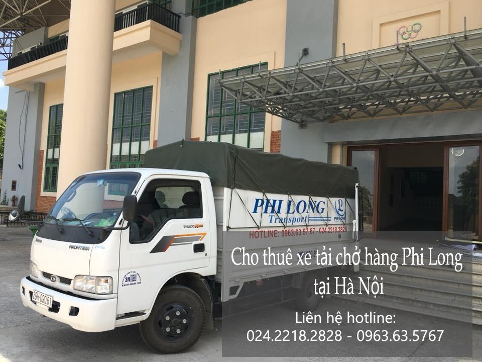 Xe tải chuyển nhà giá rẻ tại phố Hàng Lược