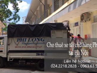 Taxi tải chuyển nhà giá rẻ tại phố Ngô Thì Nhậm
